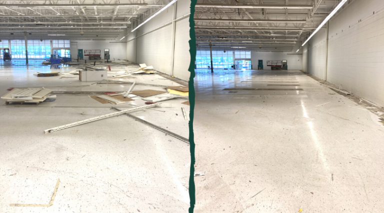 commercial property clean out